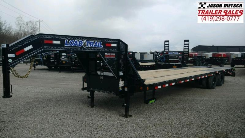 2020 Load Trail 102X32 Tandem Low-Pro Gooseneck Equipment Trailer....STOCK# LT-205825