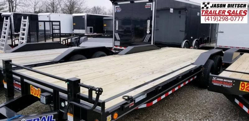 2019 Load Trail 102X24 Open Equipment/Car Trailer