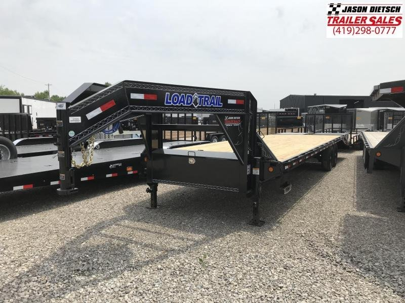 2020 Load Trail 102X30 Tandem Heavy Duty Gooseneck Equipment Trailer.... Stock# LT-204379