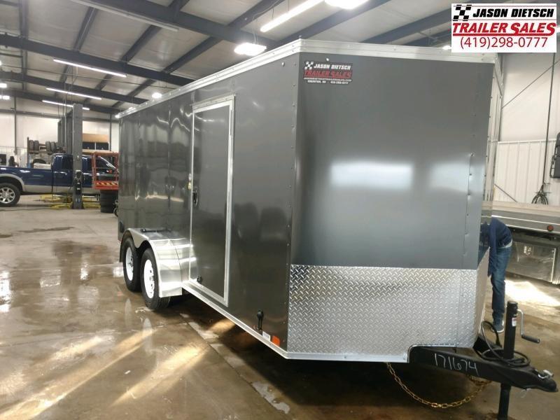 2020 United XLV 7x16 Slant/V-Nose Cargo Trailer