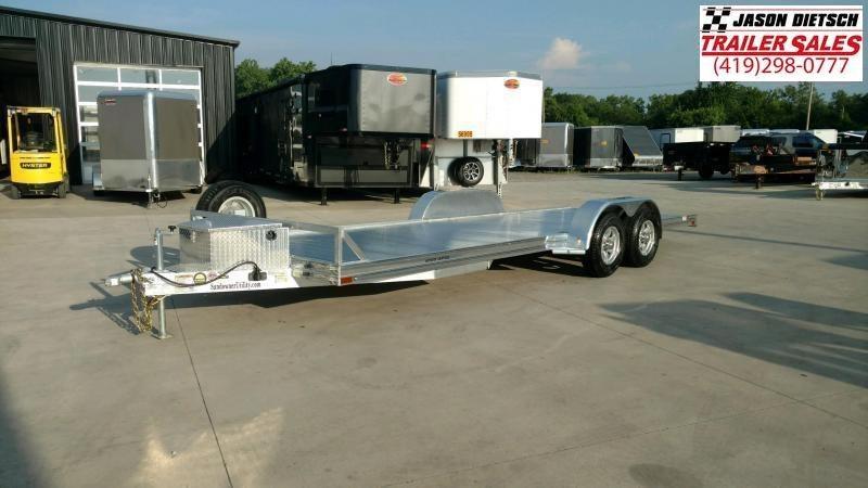 2020 Sundowner 6.9X16 Open Equipment/Car Trailer