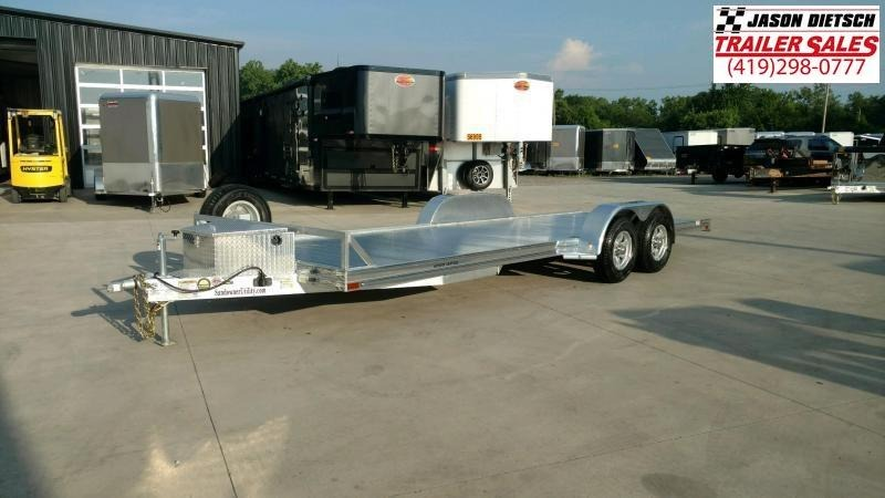2020 Sundowner 6.9X16 Open Equipment/Car Trailer