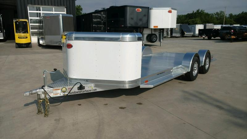 2020 Sundowner 6.9X21 Sunlite OPEN Car Trailer.... STOCK# SD-FA8015