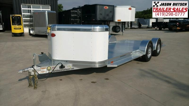 2020 Sundowner 6.9X21 Sunlite Car Trailer.... STOCK# SD-FA8015