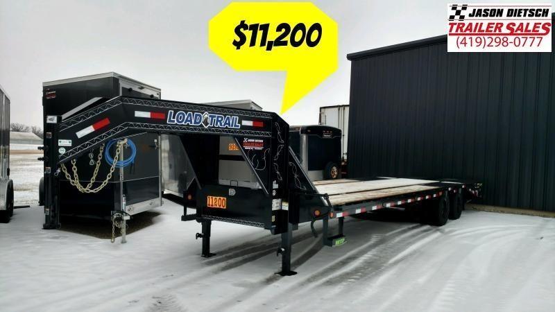 2020 Load Trail 102X30 Tandem Heavy Duty Gooseneck Equipment Trailer....LT-195021