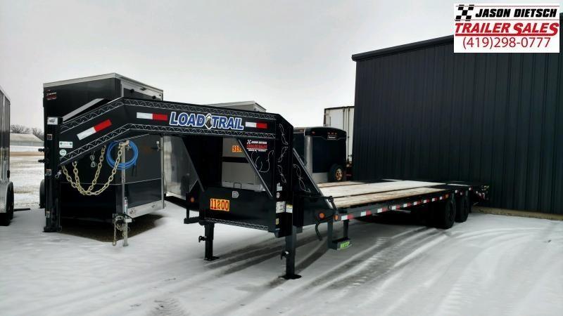 2020 Load Trail 102X30 Tandem Heavy Duty Gooseneck Equipment Trailer....LT-195021