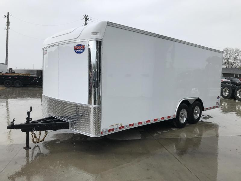 2020 United Trailer UXT 8.5x20 EXTRA HEIGHT Enclosed Trailer....Stock#UN-171082