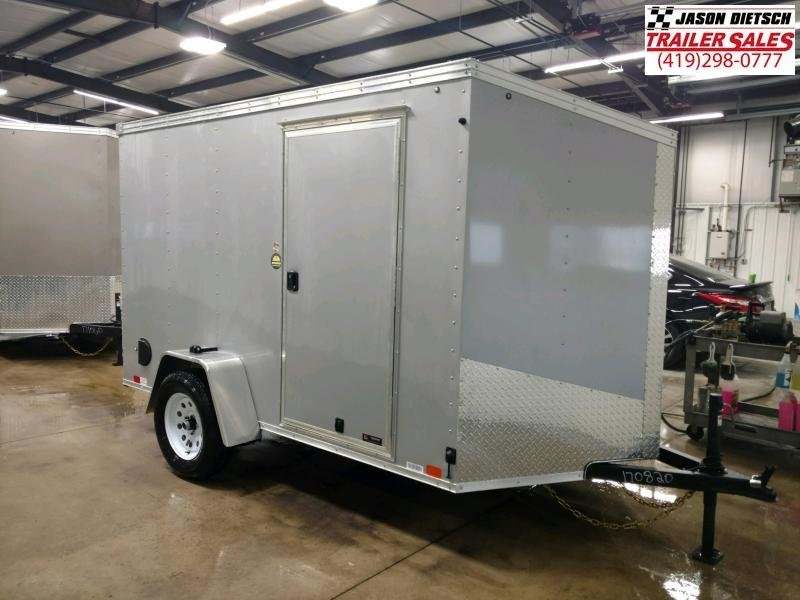 2020 United XLV 6X10 V-Nose Slant Enclosed Cargo Tr....Stock# UN-170820