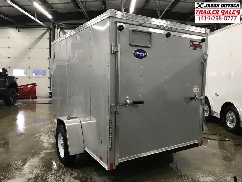2020 United XLV 6X10 V-Nose Slant Enclosed Cargo Tr....Stock# UN-170820