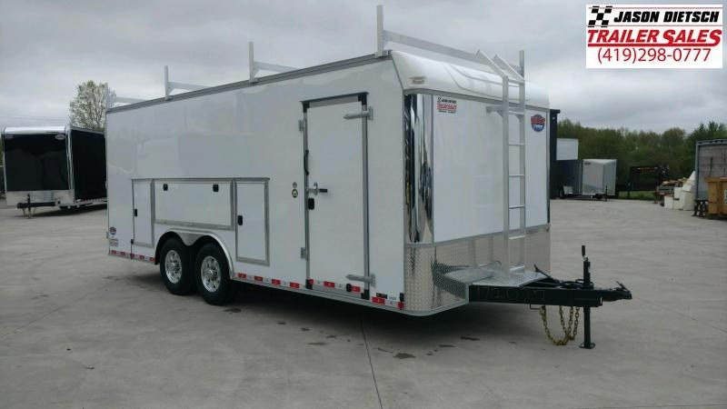 2020 United UXT 8.5x20 Tool Crib Trailer