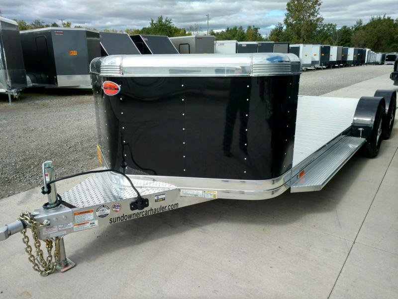 2020 Sundowner 6.9X21 Sunlite OPEN Car Trailer.... STOCK# SD-FA8016