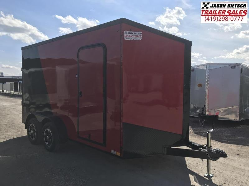 2020 Impact Trailers 7x14 EXTRA HEIGHT Enclosed Cargo Trailer....IMP001696