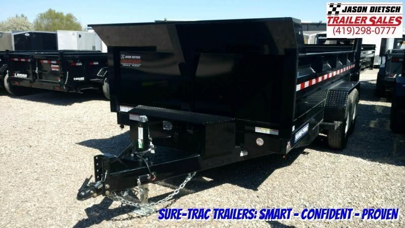 2020 Sure-Trac 82X14 Low Profile HD Dual Ram Dump 14K