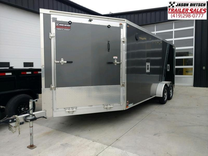 2017 Legend Manufacturing 7X23 EXPLORER EXTRA HEIGHT Snowmobile Trailer....STOCK LG-317278