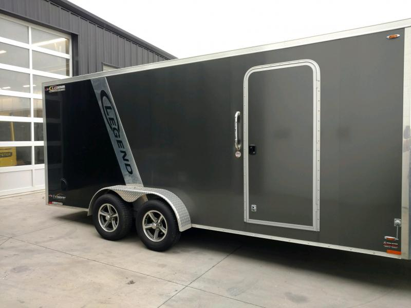 2017 Legend Manufacturing 7X23 EXPLORER  Snowmobile Trailer....STOCK LG-317278