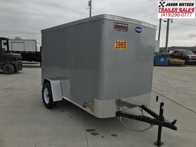 2020 United XLE 5X10 Enclosed Cargo TRAILER....Stock# UN-170691