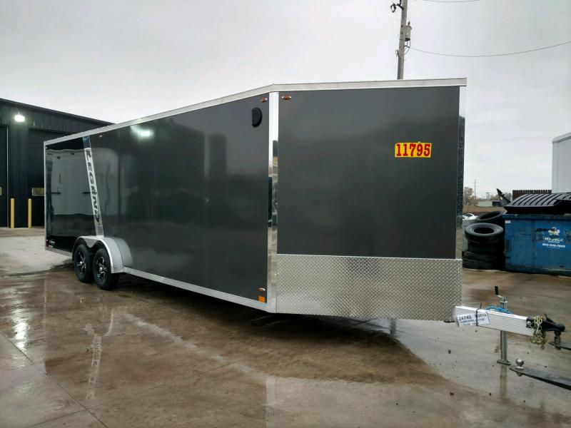 2020 Legend Manufacturing 7.5X29 EXPLORER EXTRA HEIGHT Snowmobile/ATV Trailer...