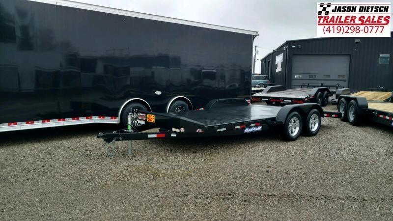 2020 Sure-Trac 7x18 Steel Deck Open Car Hauler 7k
