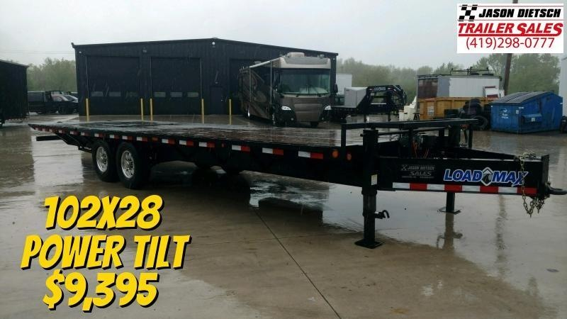2016 Load Trail 102x28 Equipment Trailer