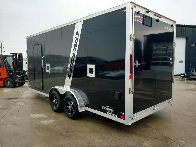"2020 Legend Explorer 7.5X23 Snowmobiles, ATV/UTV, Powersports, Lawn & Landscape Trailer 6"" Extra Height"