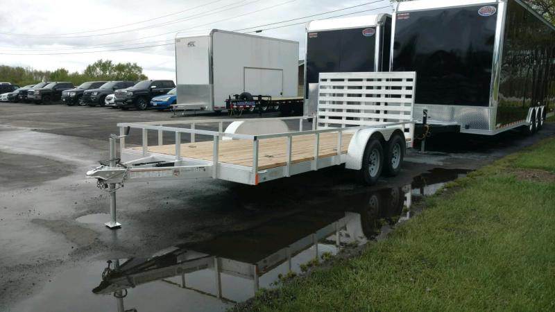 2018 Fabrique 7X16 Tube Top Utility Trailer