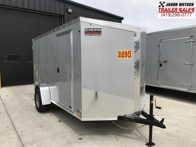 2020 United XLV 6X12 V-Nose Slant Cargo Trailer
