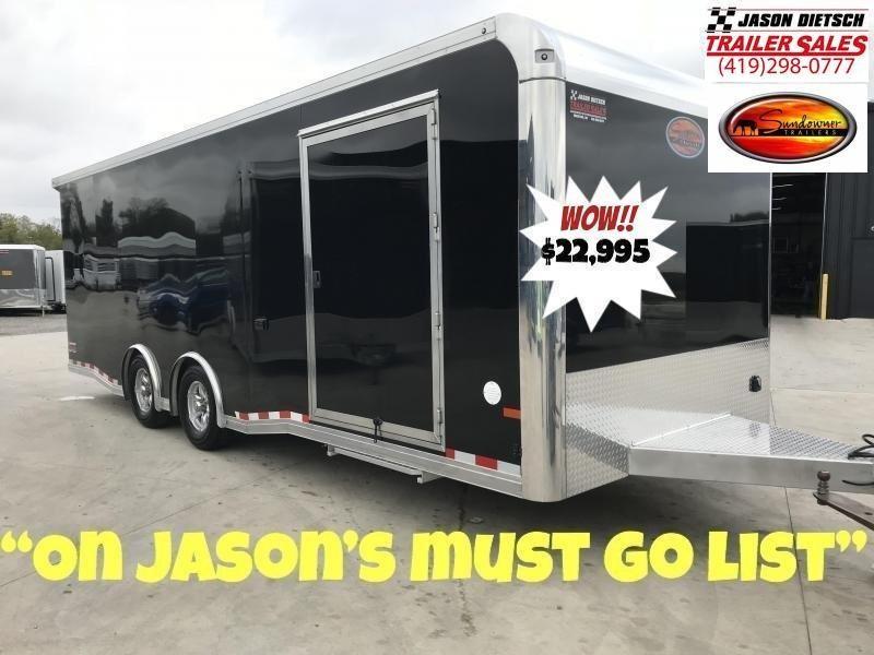 2019 Sundowner All Aluminum 8.5X24 Car/Race Trailer