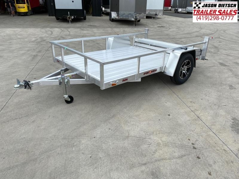 2021 Sport Haven 7X12 Aluminum Utility Trailer