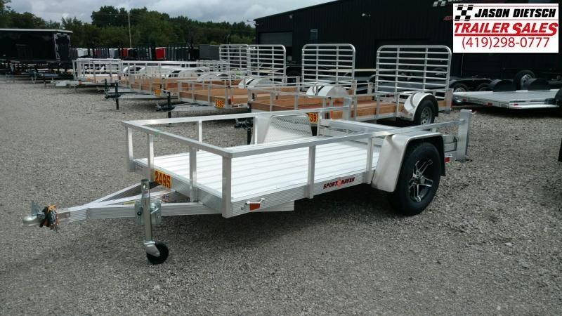 2020 Sport Haven 5X10 Aluminum Utility Trailer
