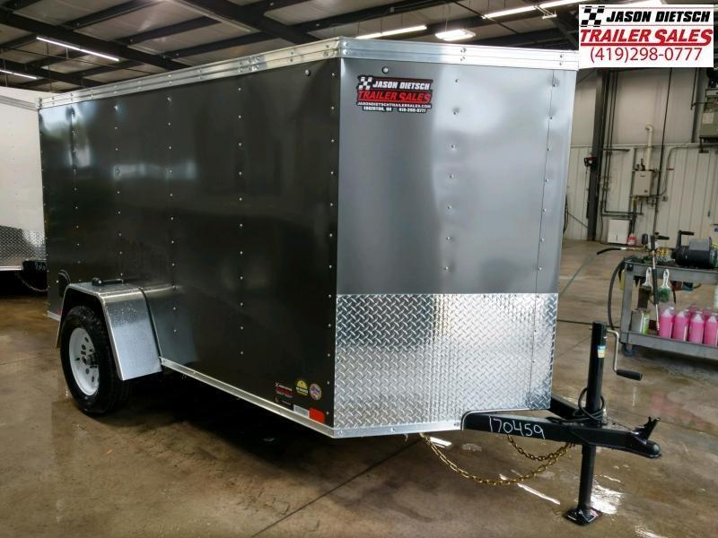2020 United XLv 5X10 V-Nose Cargo Trailer