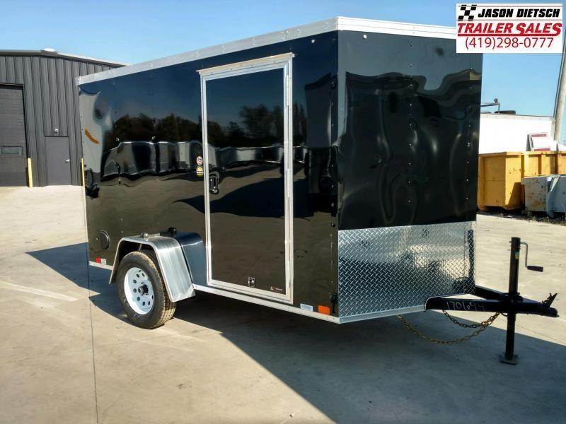 2020 United XLV 6X10 V-Nose Cargo Trailer