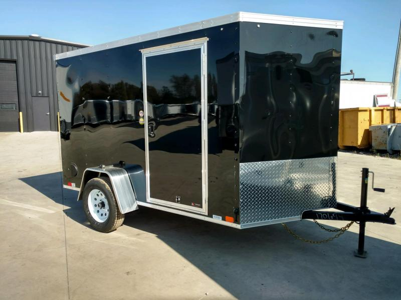 2020 United XLV 6X10 V-Nose  Enclosed Cargo Trailer....Stock# UN-170694