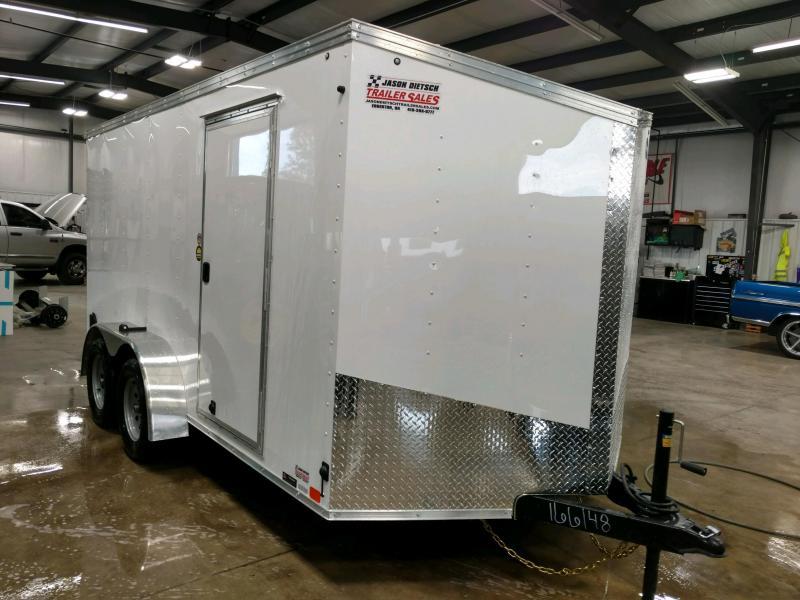 2020 United Trailers XLV 7x14 V-Nose Enclosed Cargo Trailer....Stock# UN-166148