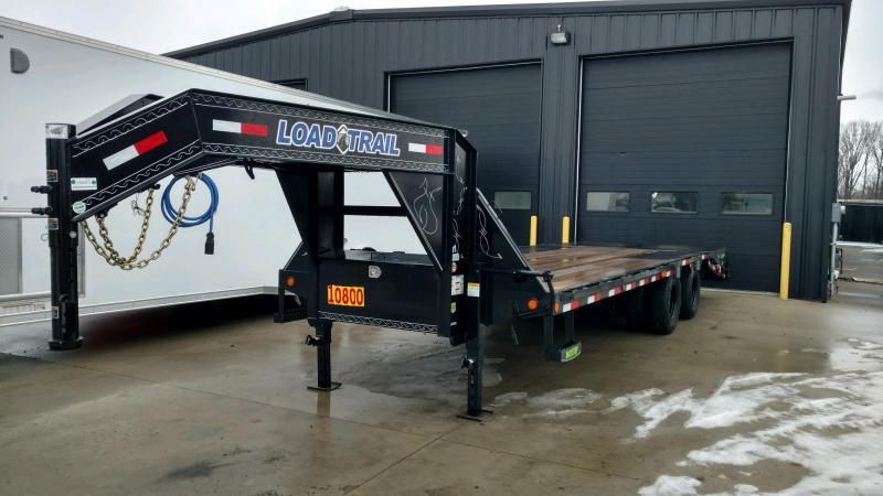 2020 Load Trail 102X25 Tandem Heavy Duty Gooseneck Equipment Trailer....LT-195023
