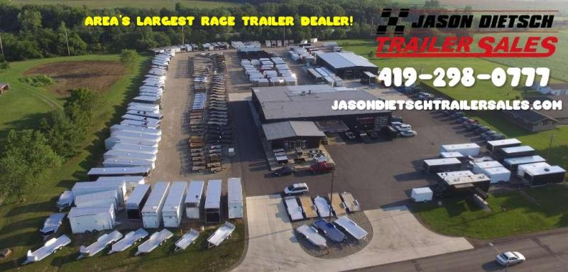 "2020 United 8.5X44 Wide Body Car/Race Trailer 12"" Extra Height"
