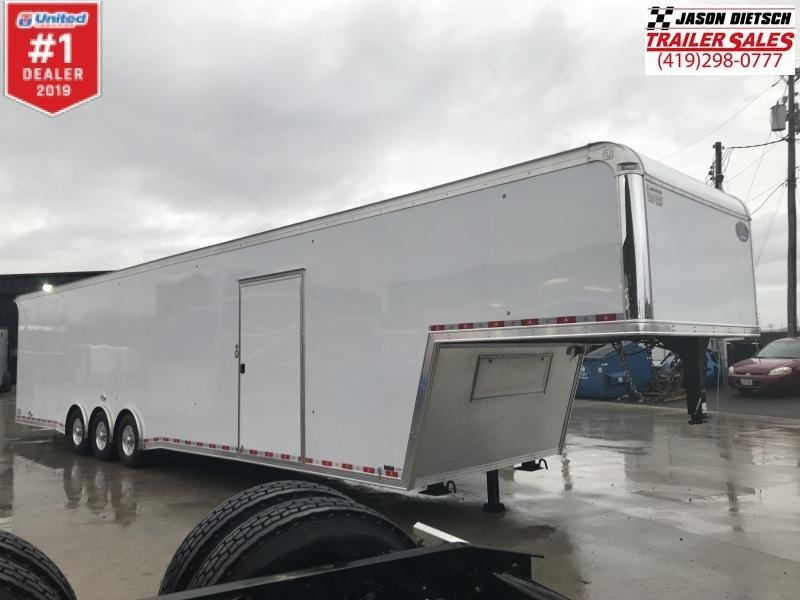 "2019 United Super Hauler 8.5x44 Car/Race Trailer 12"" Extra Height"