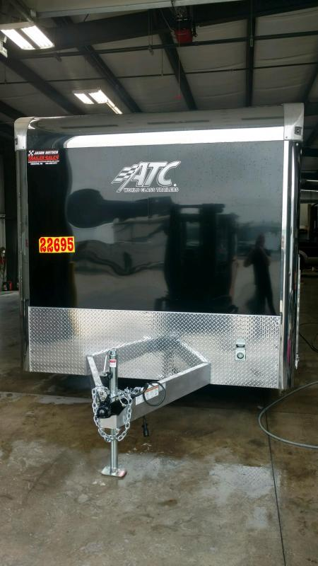 2020 ATC All Aluminum 8.5X28 Car/Race Trailer