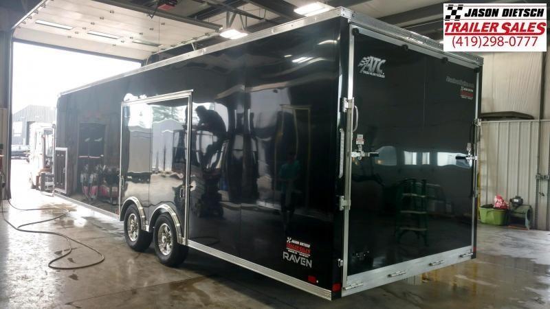 2020 ATC All Aluminum 8.5X28 Car/Race Trailer