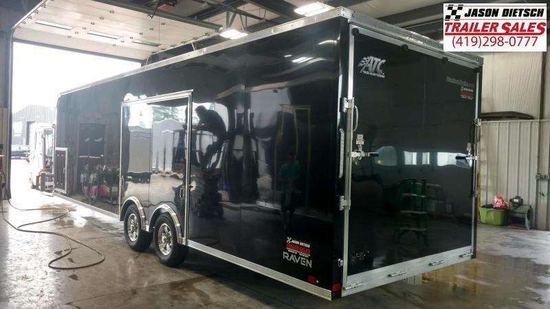 2020 ATC *All Aluminum* 8.5X28 Car/Racing Trailer... # 219125