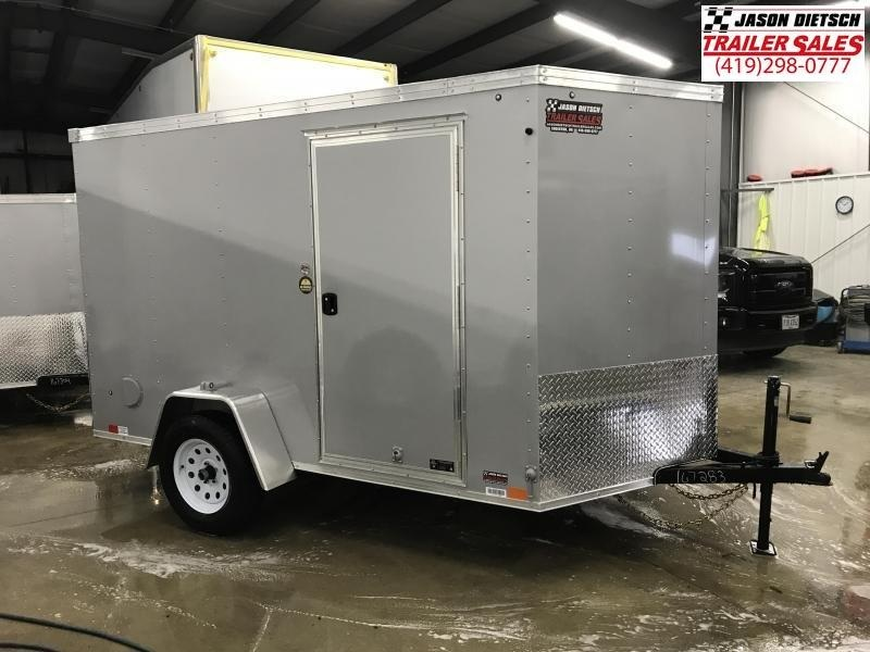 2020 United XLV 6X10 V-Nose Slant Enclosed Cargo Trailer