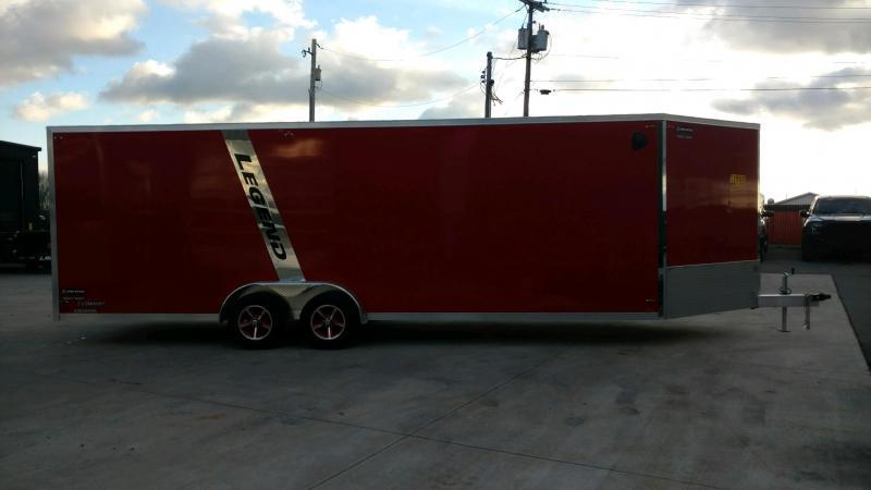 2020 Legend Explorer 7.5X29 Snowmobile Trailer Extra Height