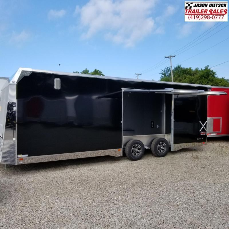 2020 ATC Quest 8.5X24 Car/Racing Trailer