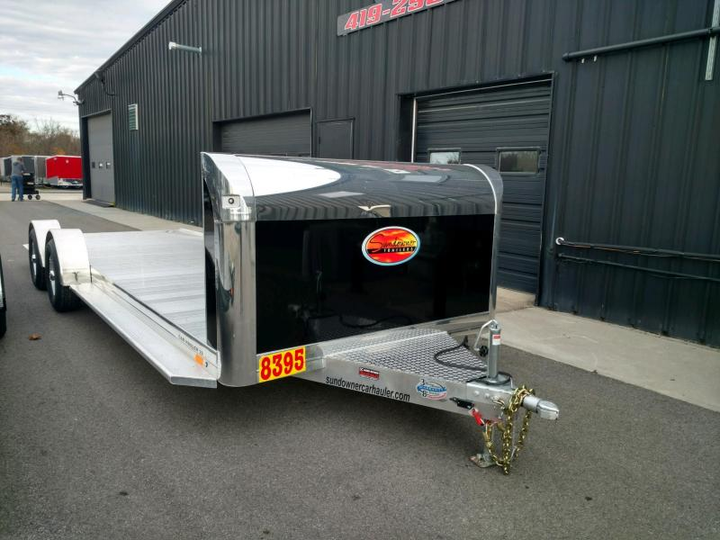 2020 Sundowner 6.9X22 Sunlite OPEN Car Trailer.... STOCK# SD-FA8005