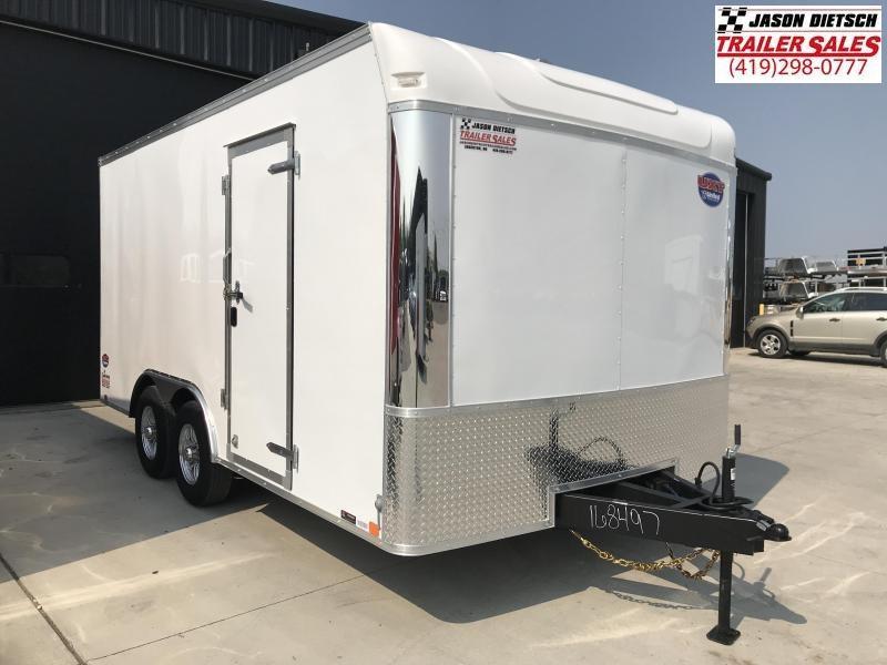 2020 United Trailer UXT 8.5X16 Enclosed Cargo Trailer....Stock# UN-170329