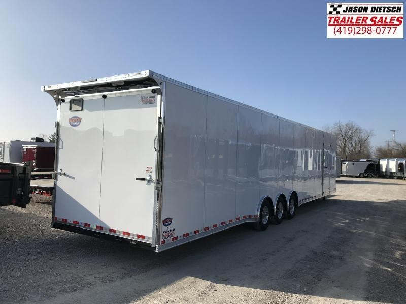 2020 United UXGH 8.5X48 Wide Body Gooseneck Triple Axle Flat Top....Stock# UN-166898
