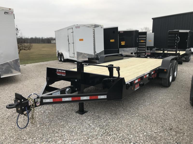 2019 Behnke 20K 83X20 Equipment Trailer