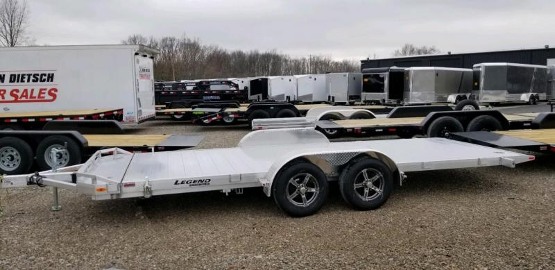 2020 Legend 7x20 All Aluminum TILT Tandem Axle ....Stock#LG-317773