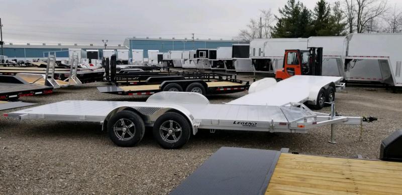 2020 Legend 7x20 All Aluminum TILT Tandem Axle ....Stock#LG-317773
