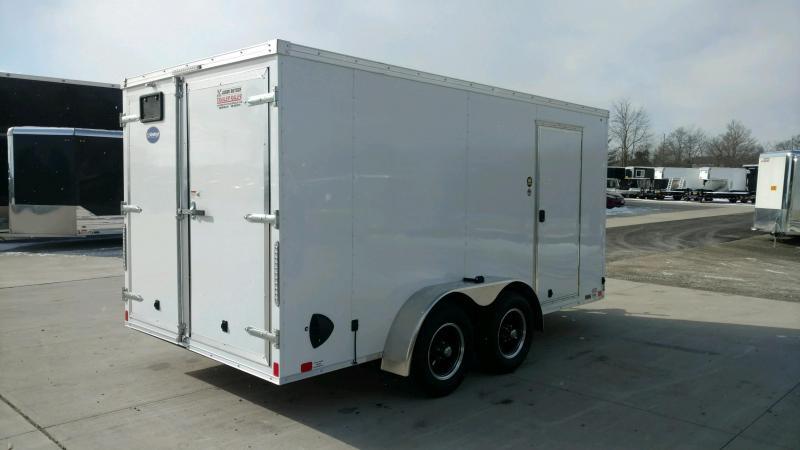 2020 United Trailers XLV 7x14 V-Nose Enclosed Cargo Trailer....Stock# UN-166183