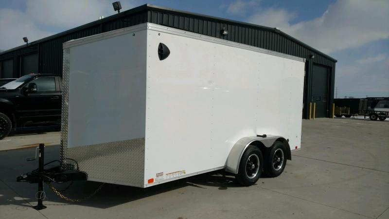 2020 United Trailers XLV 7x14 V-Nose Enclosed Cargo Trailer....Stock# UN-166183